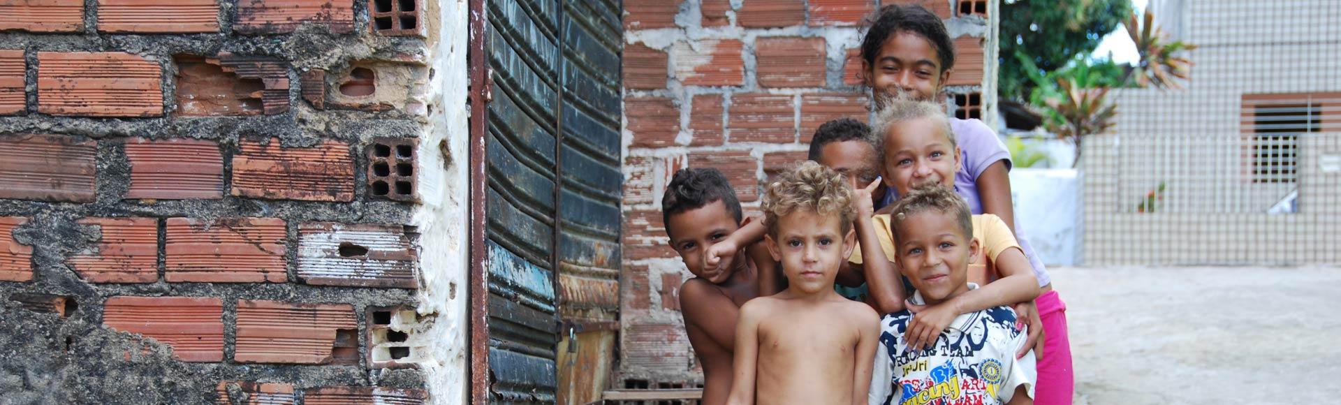 Kinder aus Olinda/Brasilien