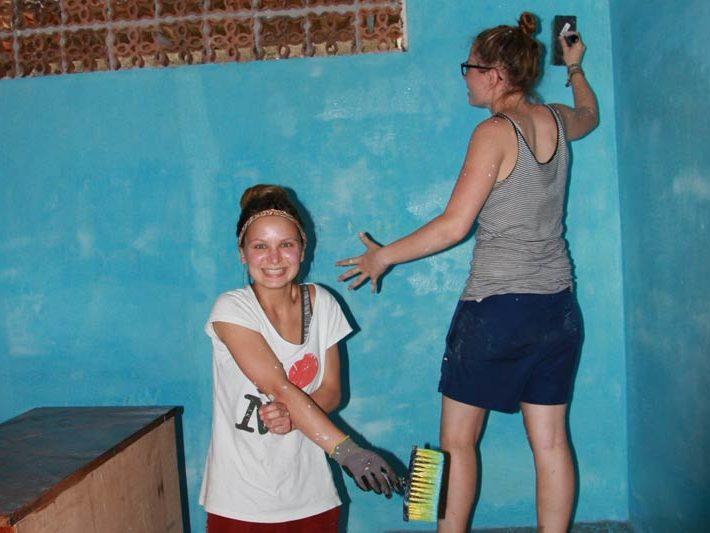 Projeto Brasil 2015: Das ganze Haus wird gestrichen