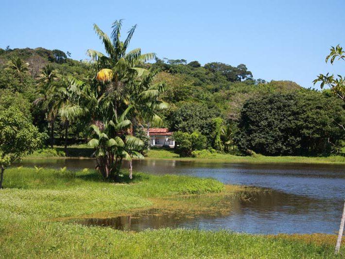 Projeto Brasil 2015: Ein nahe gelegener See
