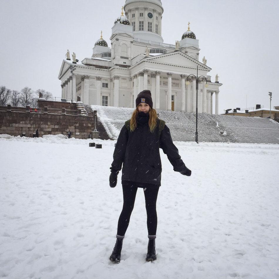 Hannah Rodenbüsch in Helsinki