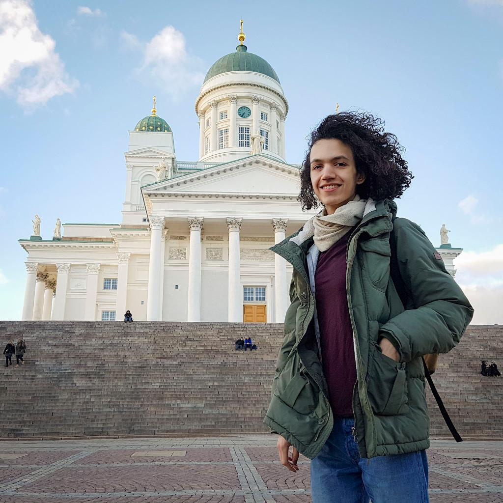 Erasmus+ Mobilität: Mel Bialas (AS3M1) in Helsinki