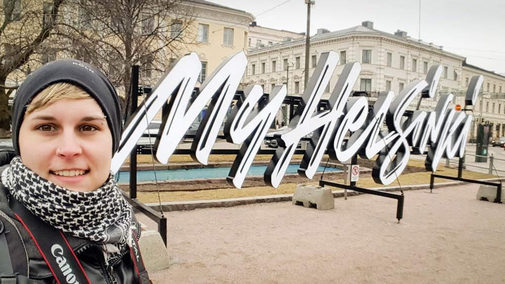 Joelle Moeres in Helsinki