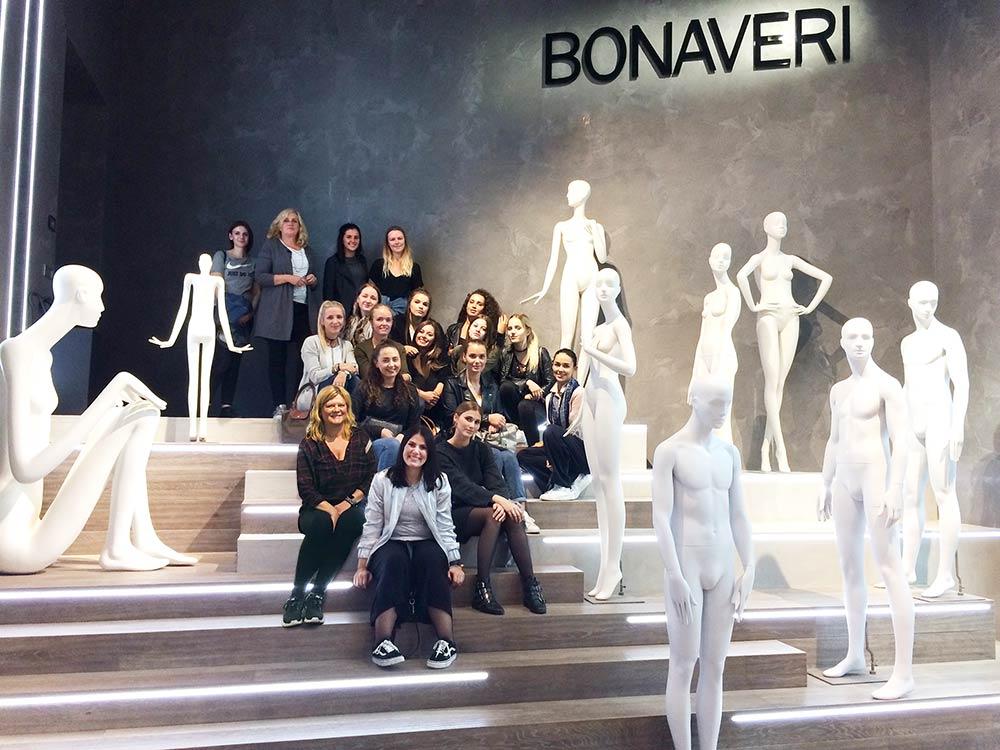 Studienfahrt der Gestalter für visuelles Marketingnach Mailand