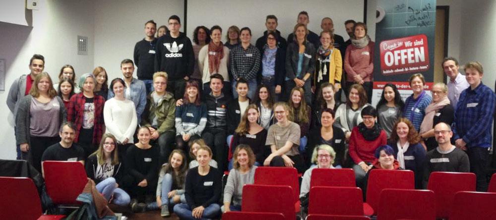 "23.11.2017: Rückblick-Vernetzungstreffen ""Schule der Vielfalt"""
