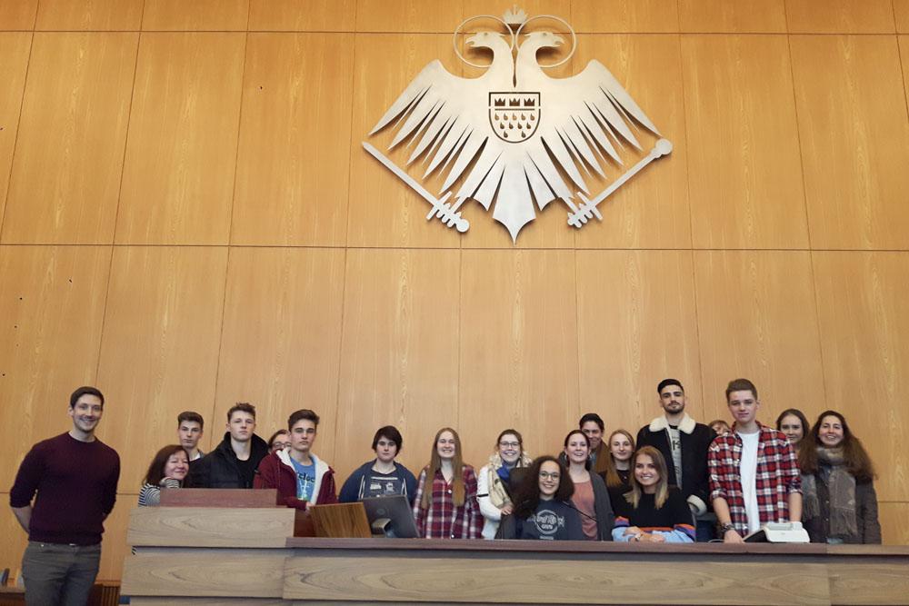 28.1.2018: G11-1 und G11-2 zu Gast im Kölner Stadtrat