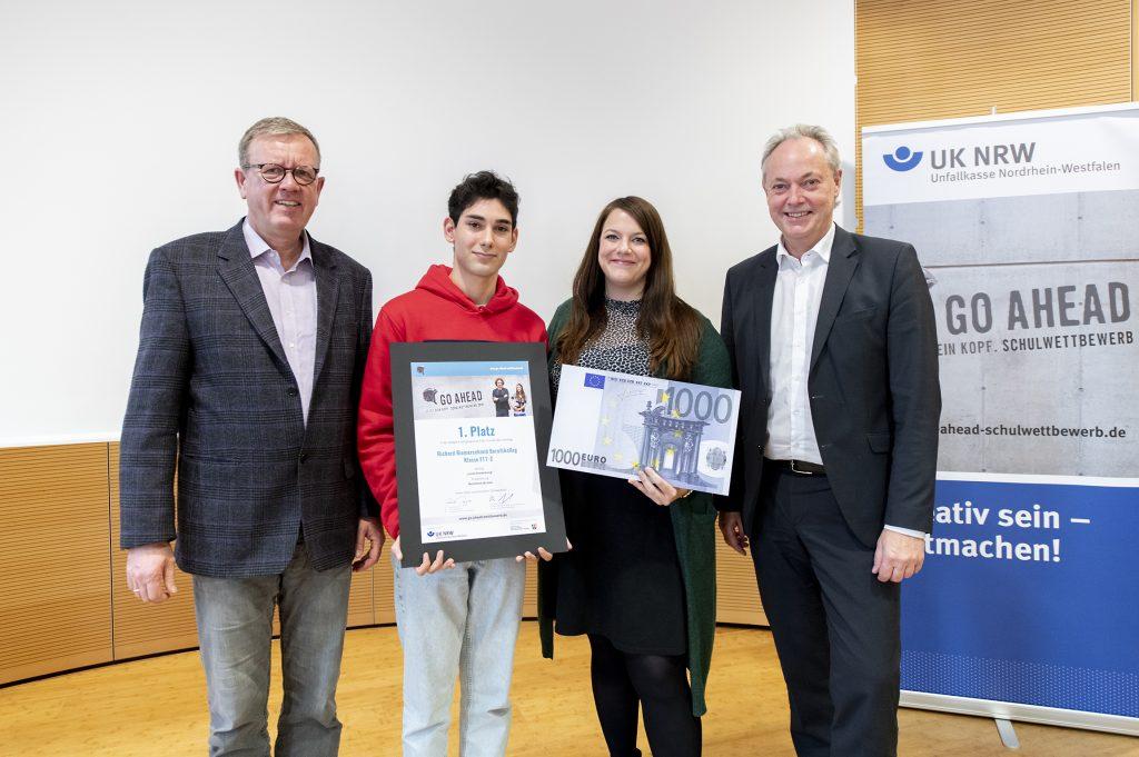 """Gewinner des """"Go Ahead"""" Schulwettbewerbs 2019"""
