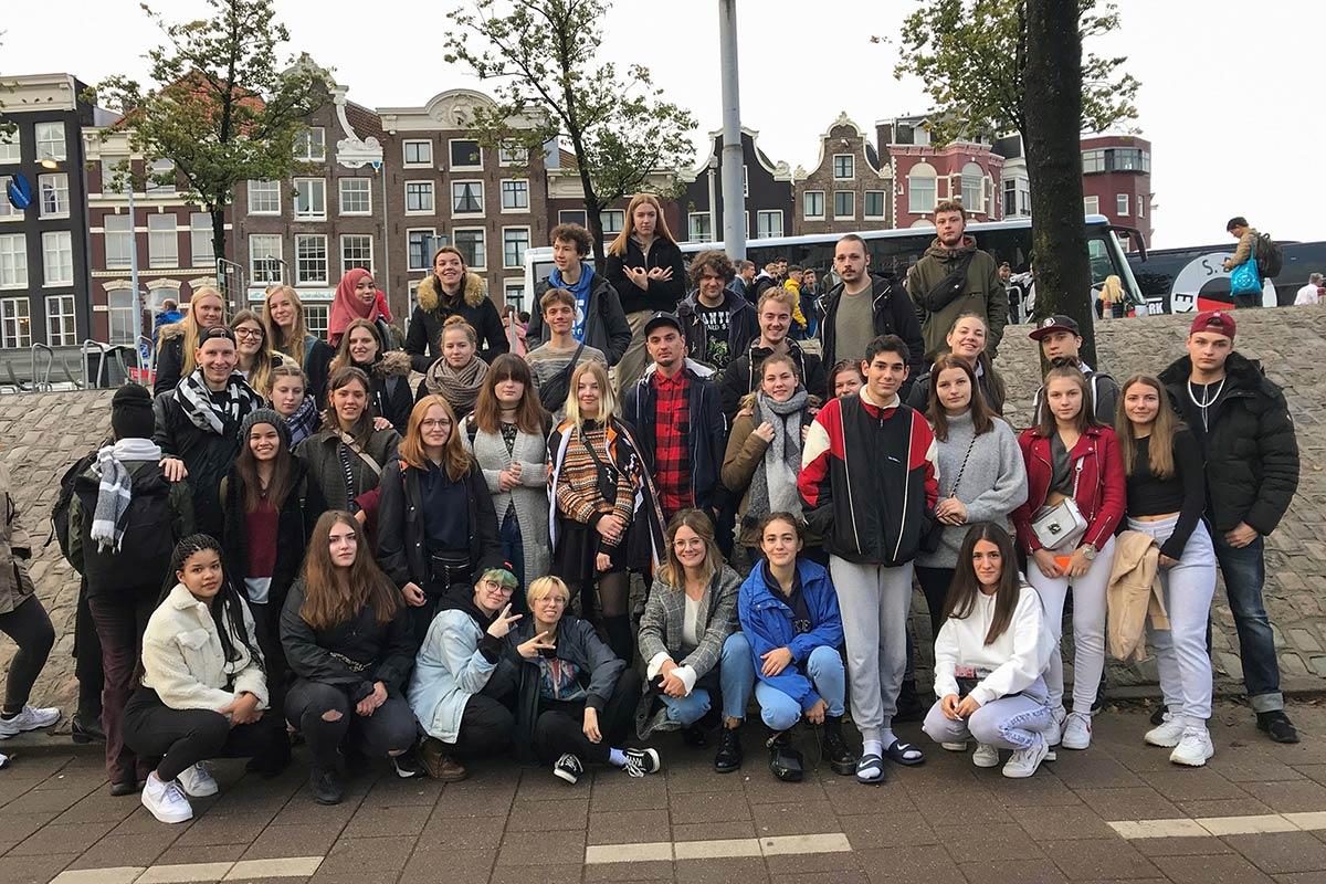 7.10. - 11.10.2019 Klassenfahrt der FOS nach Amsterdam