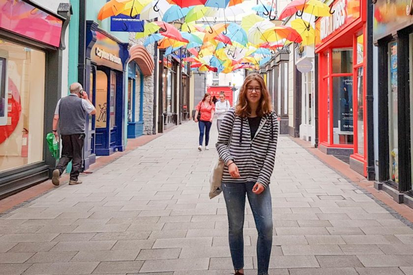 Lea Laermann (G12-1) in Cork/ Irland